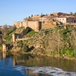 Stock Photo: Fortification of Toledo