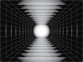 Tunnel — Vector de stock