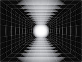 Túnel — Vector de stock