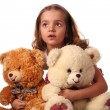 Child with bears — Stock Photo #3102546