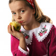 Child and apple — Stock Photo #3108382