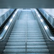 Escalator and stair — Stock Photo
