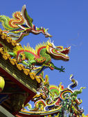 Roof of Chinese temple — Stock Photo