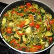 Stock Photo: Vegetable ragout