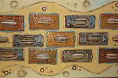 Absrtract ceramic panel — Stock Photo