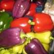 Stock Photo: Colorful vegetables