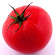 Red Tomato With Condensation — Stockfoto