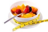 Bowl of Fresh Fruit Salad — Stock Photo