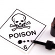 Poison With Eyedropper — Foto de Stock