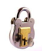 Old Fashioned Padlock — Stock Photo
