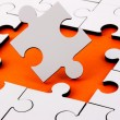 Jigsaw With Pieces Missing — Stock Photo