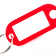 Stock Photo: Red Keyring