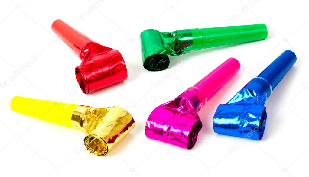 Party Blower: Stock Photo © Swalwellj #3611032