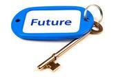 Key To The Future — Stock Photo