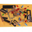 Hobby electronic parts — Stock Photo