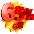 Stock Photo: 65 percent off