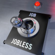 Job or Jobless — Stock Photo