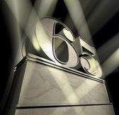 Congratulation 65 — Stock Photo