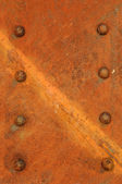 Rust and rivets — Stock Photo