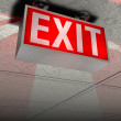 Exit sign — Stock Photo #3420730