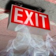 Exit sign — Stock Photo #3420735