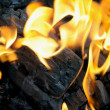 Charcoal fire — Stock Photo #3611404