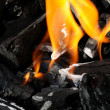 Charcoal fire — Stock Photo #3611413