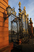 Castle entrance — Stock Photo