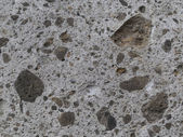 Exposed aggregate concrete — Stock Photo