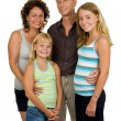 Happy family in studio — Stock Photo #2745731
