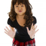 Cute asian girl — Stock Photo #3057600