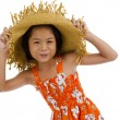 Beautiful asian teeny — Stock Photo