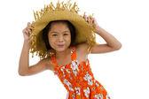 Vackra asiatiska teeny — Stockfoto