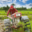 Stock Photo: Hard working asifarmer