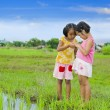 Two cute asian girls — Stock Photo #3686908