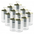 Stock Photo: Ringpull Tin Cans