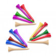 Stock Photo: Golf Tees
