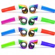 Foto de Stock  : Party Blowers
