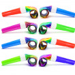 Stok fotoğraf: Party Blowers