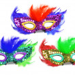Party Masks — Stock Photo
