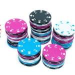 Stacks of Poker Chips — Stock Photo
