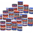 Stacks of Poker Chips — Stock Photo #3212490