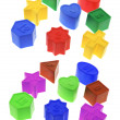 Shape Sorter Toy Blocks — Stock Photo