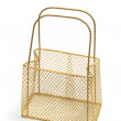Wire Mesh Carry Basket — Stockfoto