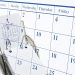 Calendars — Stock Photo
