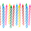 Birthday Candles - 图库照片