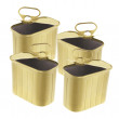 Empty Ring-Pull Tin Cans — Stockfoto