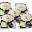 Computer Hard Disks — Stock Photo