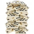 Stack of Dominoes — Stock Photo