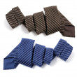 Pinstriped Neckties — Stock Photo